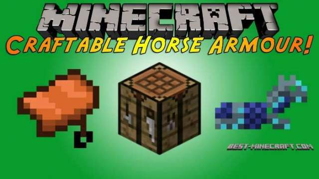 Craftable Horse Armour and Saddle